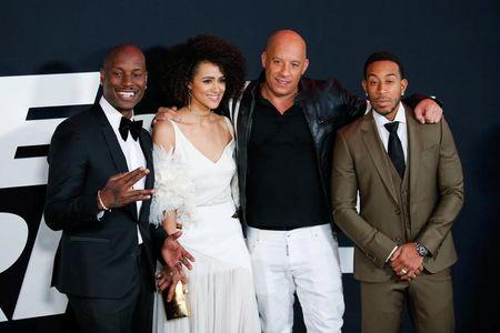 The Fate of the Furious Speeds Into First Place Again