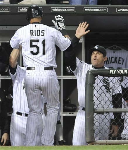 Rios homers to help White Sox cool off Rays, 3-1