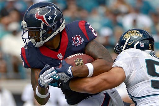 Texans have their way with Jaguars, win 27-7