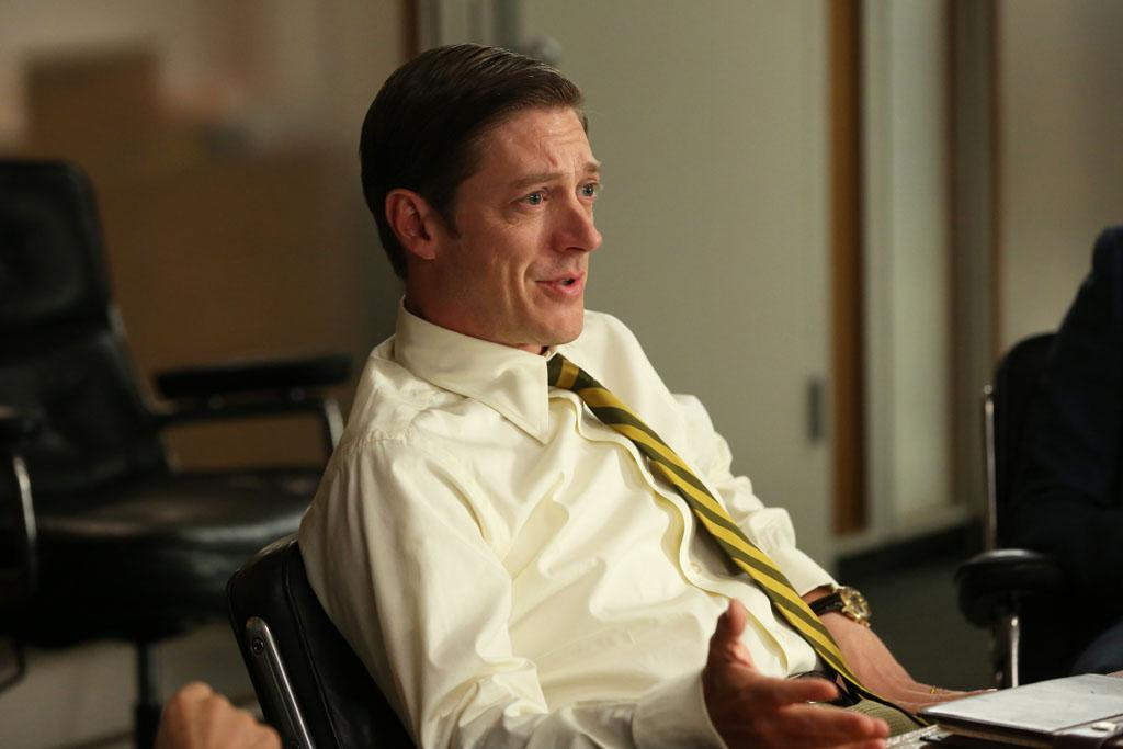 """Ted Chaough (Kevin Rahm) in the """"Mad Men"""" episode, """"A Tale of Two Cities."""""""