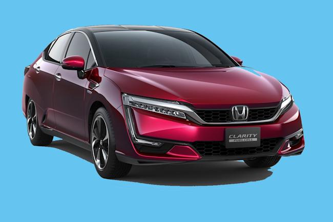 The three-variant Clarity is one of Honda's most advanced creations