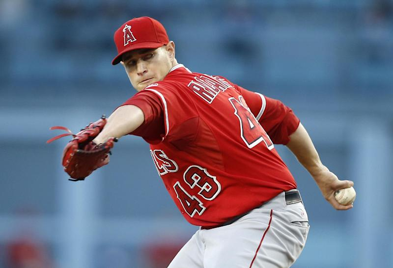 Angels rout Dodgers 5-0 in Freeway Series opener