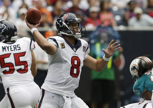 Texans' defense spurs rout of Miami, 30-10