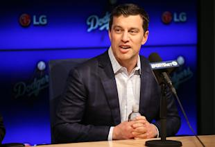 Dodgers president of baseball operations Andrew Friedman. (Getty Images)