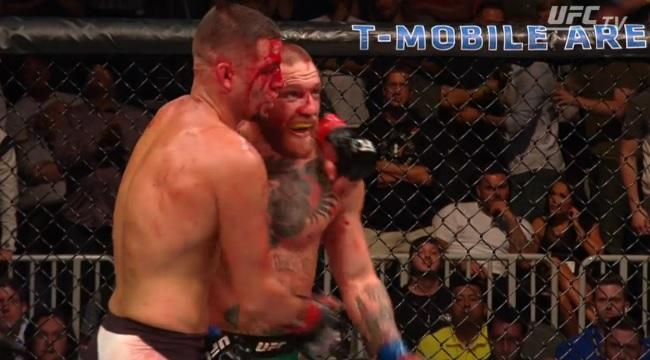 Conor McGregor: Nate Diaz annoyed Irishman ran away during the fight