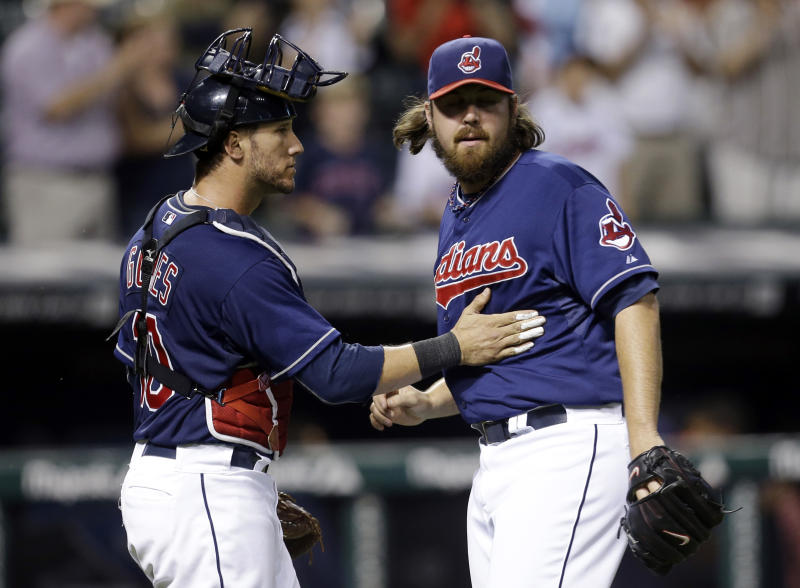 Indians don't chicken out, beat Orioles 6-4