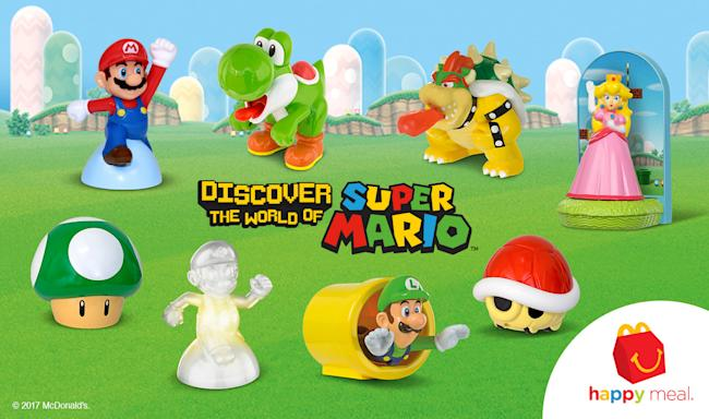 Nintendo is bringing its toys back to McDonald's Happy Meals
