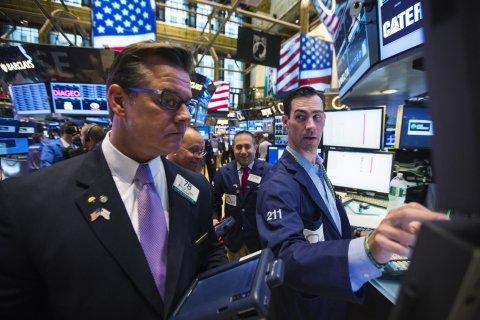 New York Stock Exchange Wall Street trader