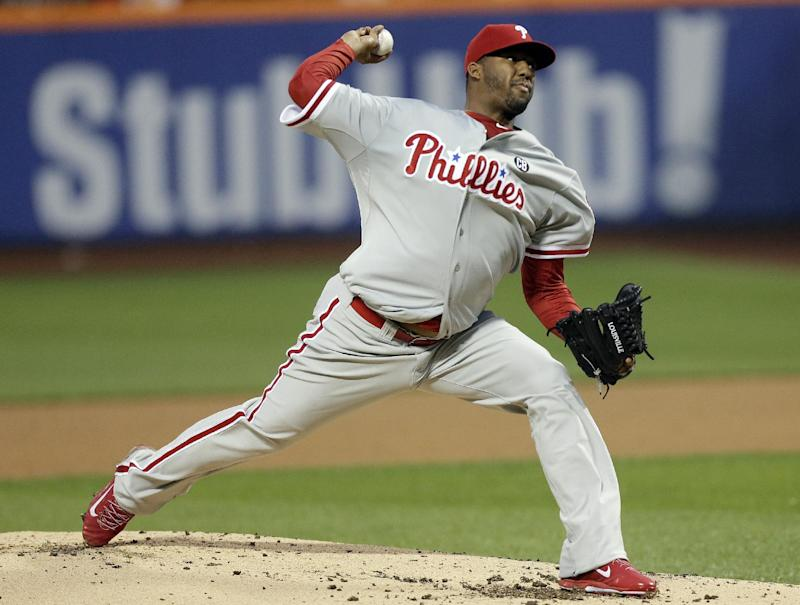 Byrd's double lifts Phillies over Mets 3-2 in 11
