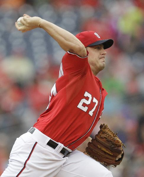 Nationals chase Lincecum early, defeat Giants 6-2