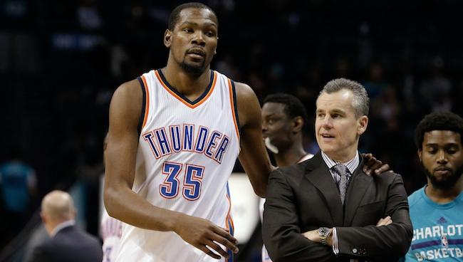 Billy Donovan Says Kevin Durant Was 'Very, Very Honest' During The Free Agency Process