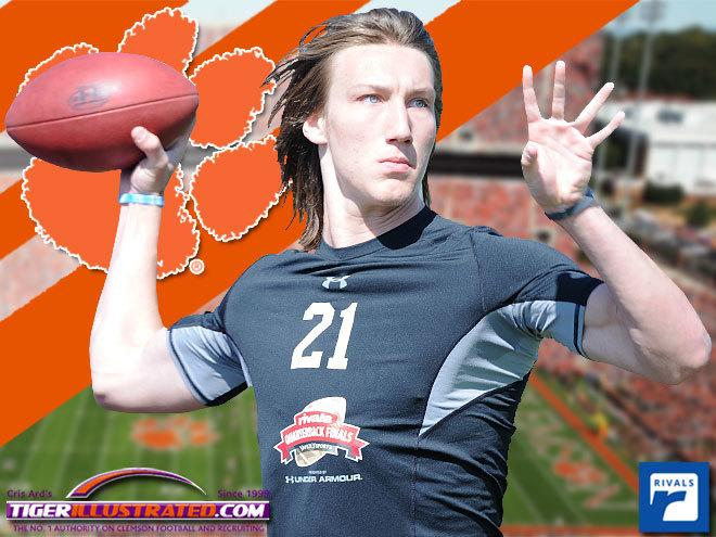 No. 1 overall junior, QB Trevor Lawrence commits to Clemson