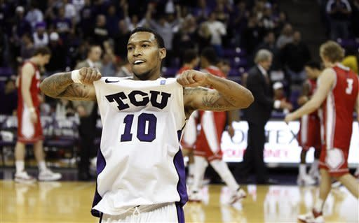 Another upset: TCU tops No. 18 New Mexico 83-64