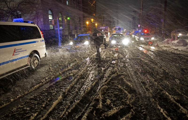 In Sandy, NYC rescuers find themselves the victims