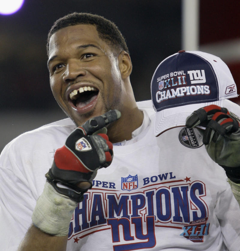 Strahan expects emotions to flow at HOF induction