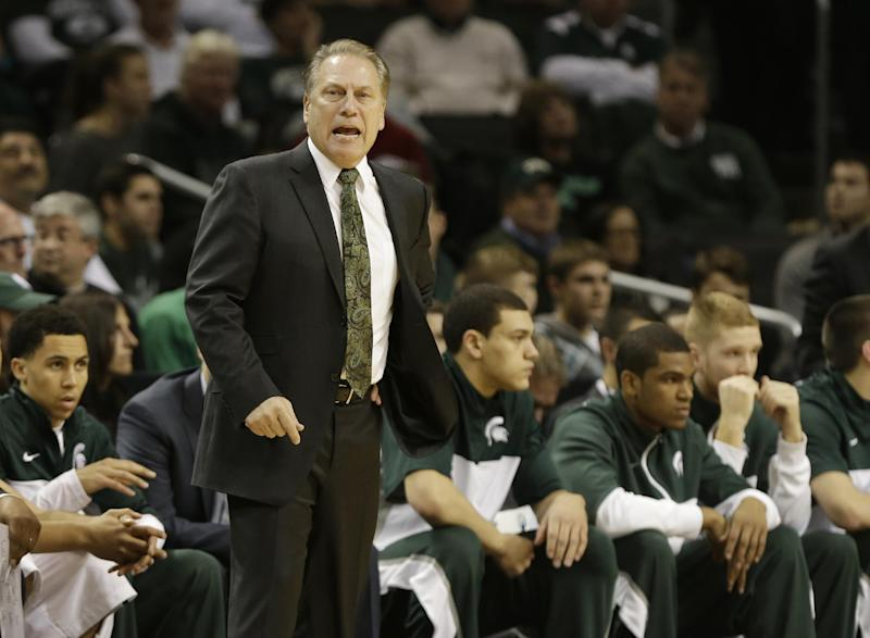 Michigan State looking for longest stay at No. 1