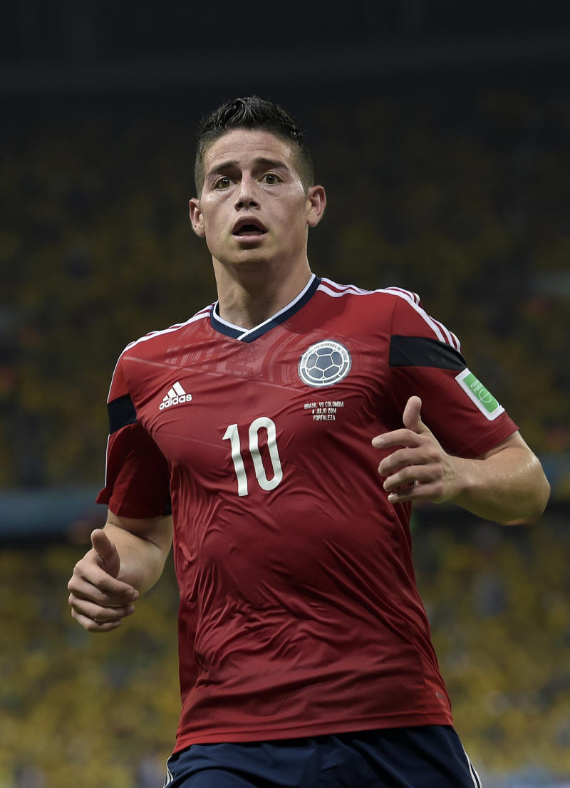 Reports: Colombia's Rodriguez going to Real Madrid