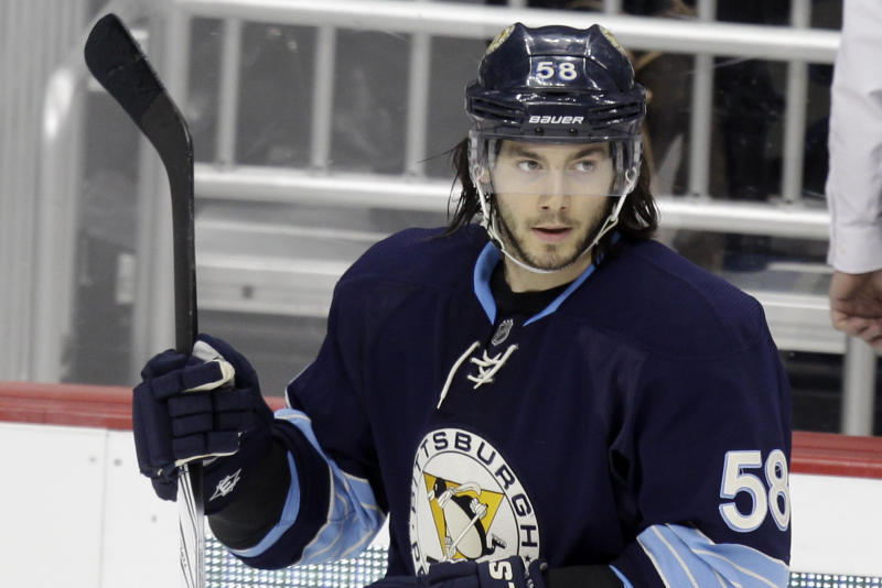 Penguins D Kris Letang out after having stroke