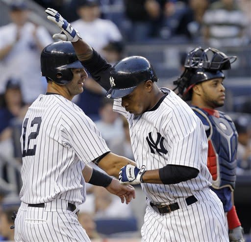 Cano, Kuroda lead Yankees past Indians 7-1