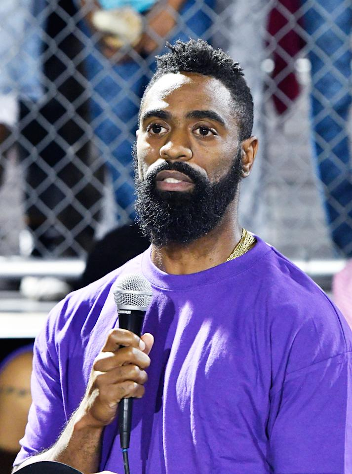 Tyson Gay Shares Emotional 'Thank You' With Fans & Calls For Peace and an End to Violence
