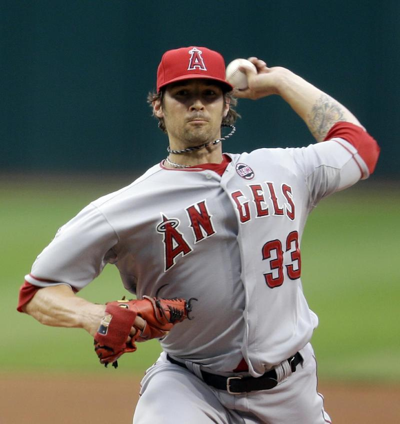 Wilson, Angels send Indians to 6th straight loss