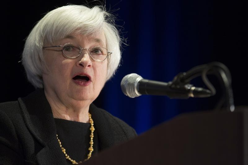 United States Federal Reserve Chair Janet Yellen speaks at the 2014 National Interagency Community Reinvestment Conference in Chicago