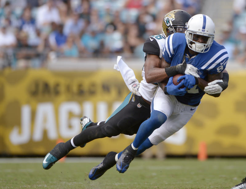 Colts' Wayne focused on proving doubters wrong