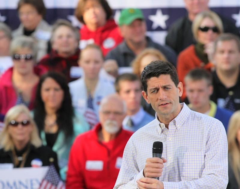 Ryan says more jobs mean more people paying taxes