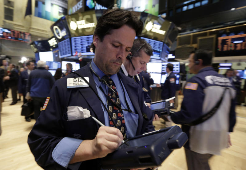 Dow, S&P 500 nudge higher; Nasdaq ends above 4,000