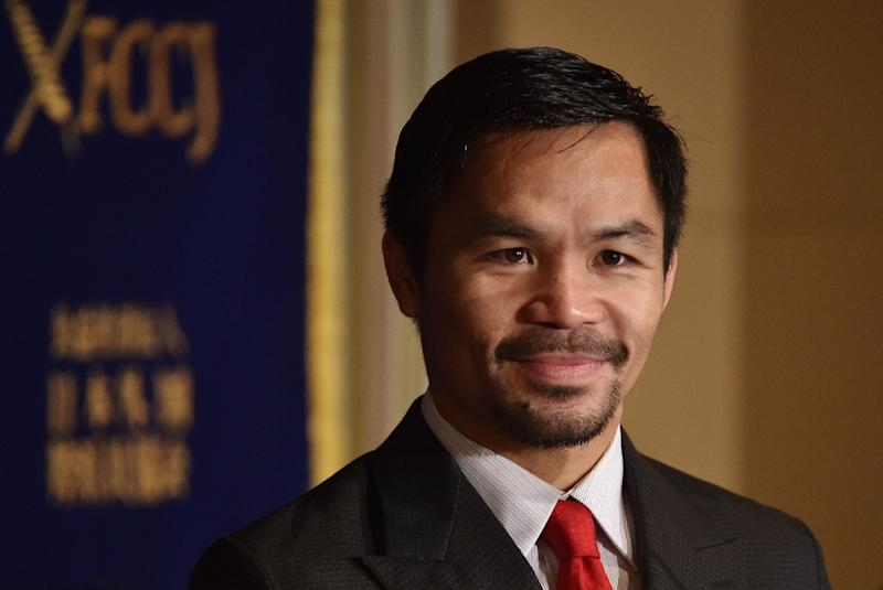 Pacquiao says Mayweather rematch still a possibility