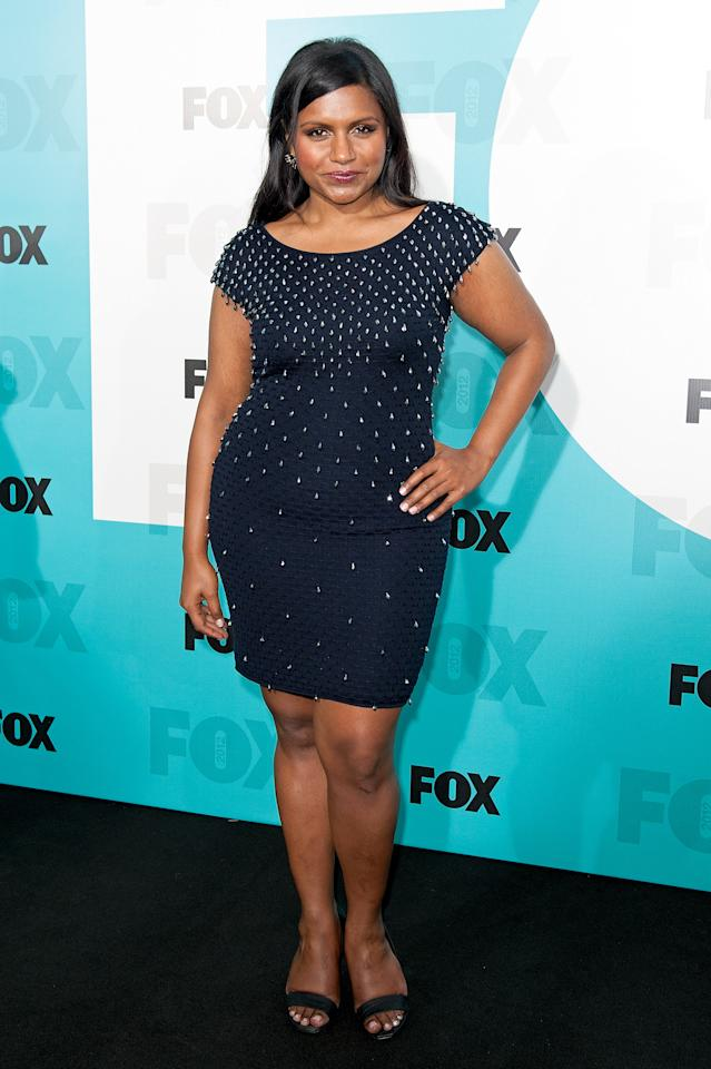 NEW YORK, NY - MAY 14:  Mindy Kaling attends the Fox 2012 Programming Presentation Post-Show Party at Wollman Rink - Central Park on May 14, 2012 in New York City.  (Photo by D Dipasupil/FilmMagic)