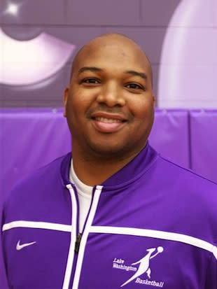 Former Lake Washington boys basketball coach Barry Johnson — KangHoops.com