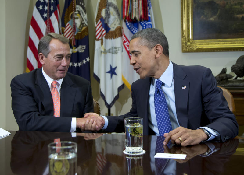 Hill leaders voice new confidence in deficit deal