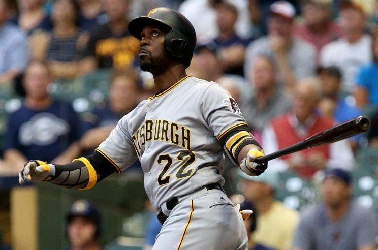 Andrew McCutchen is still a Pirate, and could stay that way in 2017. (AP)