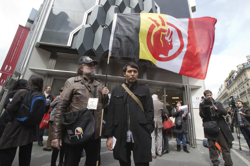 To Hopis' dismay, tribal masks sold off in Paris