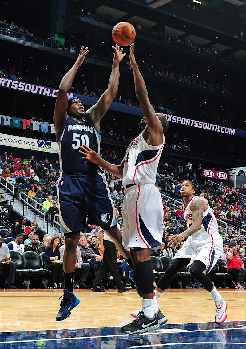 Grizzlies win with defense again, beat Hawks 79-76