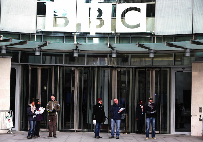 BBC leaders have harsh words for own corporation