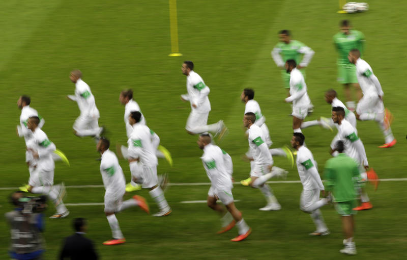 South Korea unchanged to face Algeria at Cup