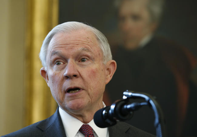 Sessions plans crackdown on violent gangs, especially MS-13