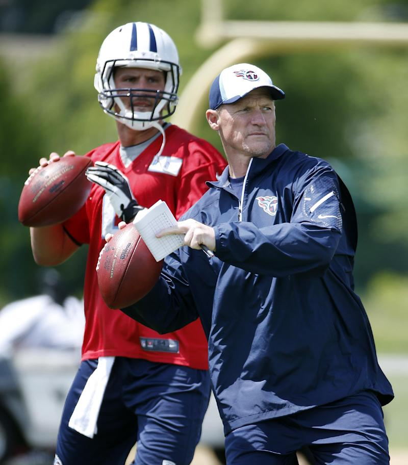 QB Zach Mettenberger eager to work with Titans
