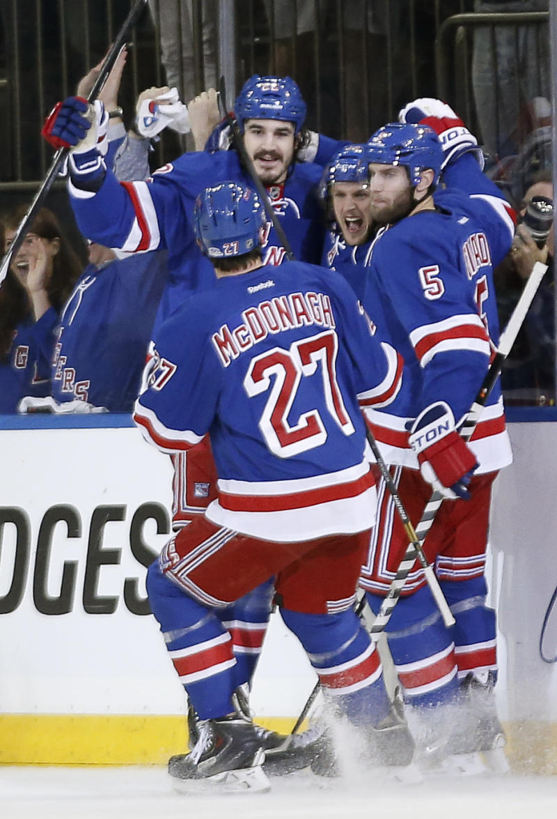 Rangers move within 1 win of Stanley Cup finals