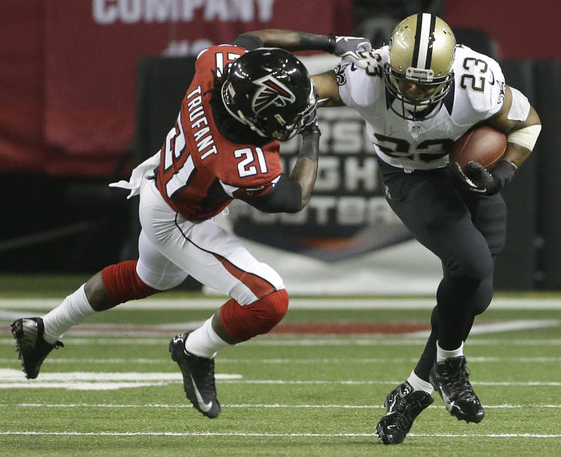 Defense leads Saints past Falcons, 17-13