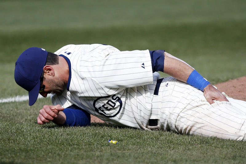 Cubs put OF Ruggiano on DL, make 4 roster moves