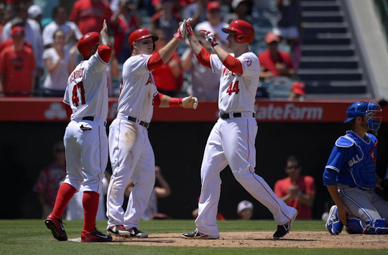 Blue Jays rally past Angels to avoid 4-game sweep