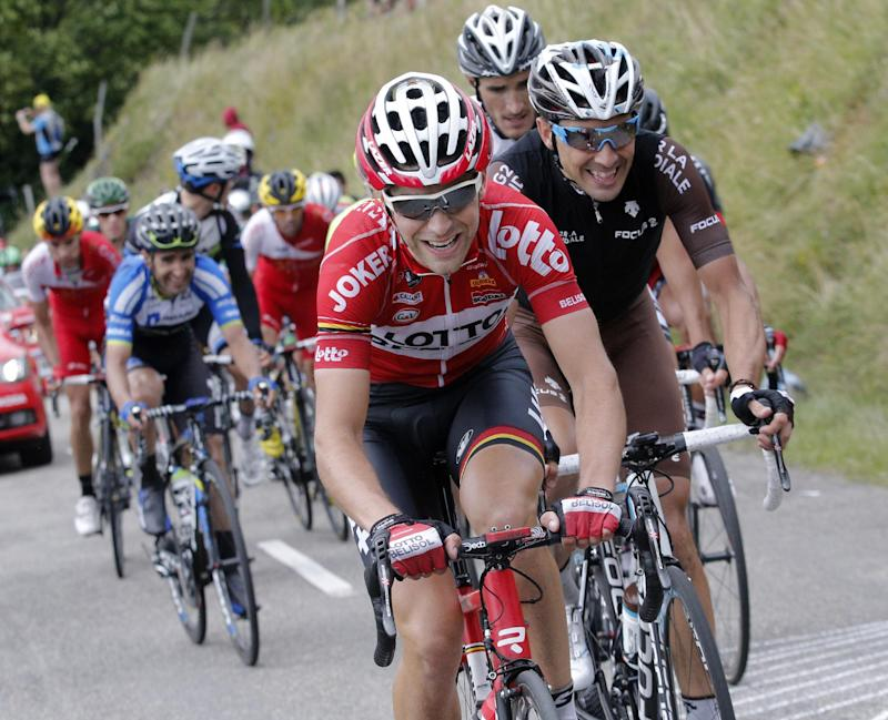 Tale of 2 Tonys at Tour de France 9th stage