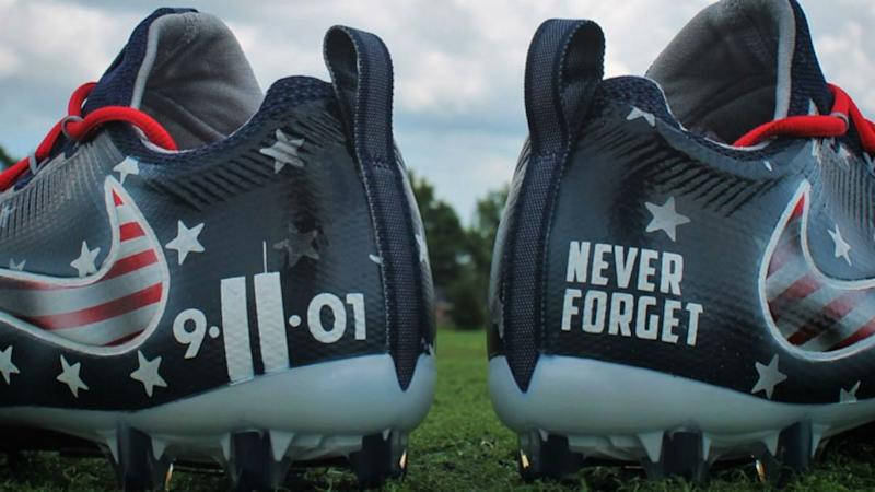 Police Union Leaders to Linebacker: Wear 9/11 Shoes, We'll Pay Your Fine