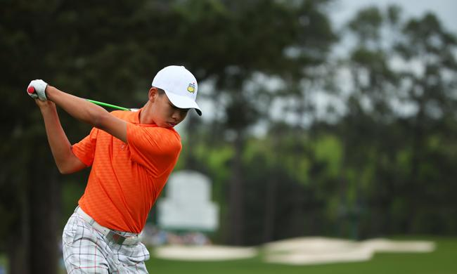 Masters: Guan Tianlang receives 1-stroke penalty for slow play