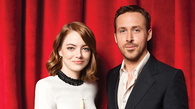 Film stars Ryan Gosling and Emma Stone immortalised on Hollywood Boulevard