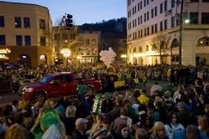 World's Shortest St. Patrick's Day Parade March 17 in Hot Springs, Arkansas