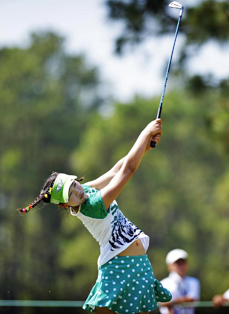11-year-old qualifier just wants to have fun